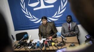 លោកស្រី Fatou Bensouda អយ្យការតុលាការព្រហ្មទណ្ឌអន្តរជាតិ (ICC)