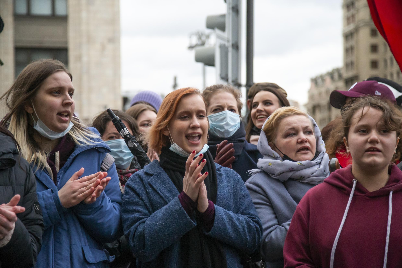 Подавляющее большинство участников акции 21 апреля составила молодежь не старше 25-30 лет