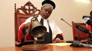 Jaji Mkuu wa Mahakama Maalum ya Jinai (CPS) Michel Landry Louanga, (picha ya kumbukumbu).