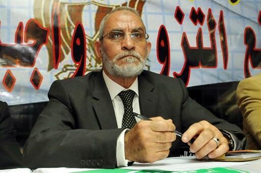 Mohammed Badie, lãnh đạo tối cao của Huynh đệ Hồi giáo - AFP /STR