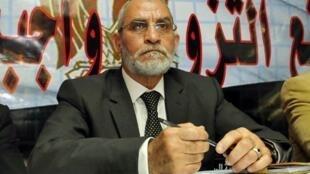 Mohammed Badie, guide suprême des Frères musulmans.