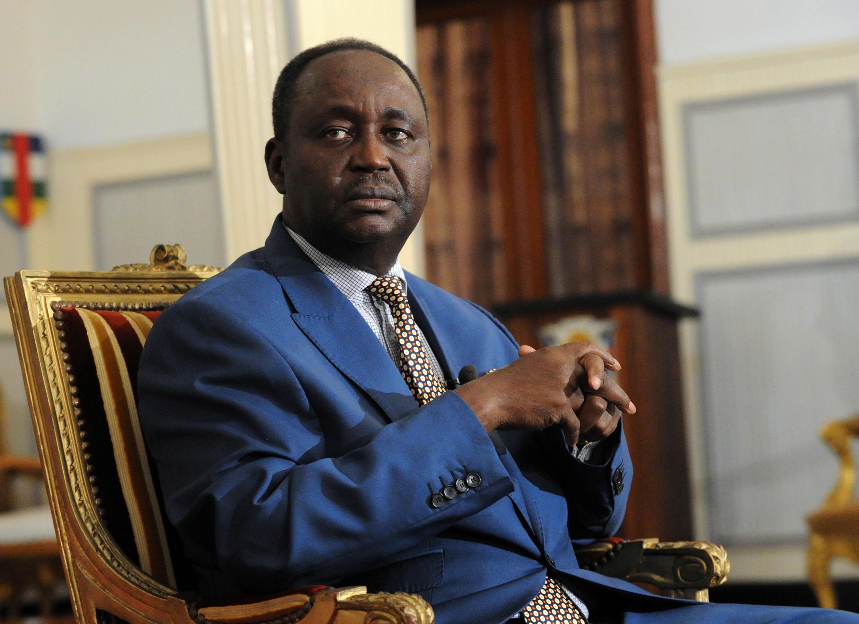 Antigo Presidente da República Centro-Africana, François Bozizé, 8 de Janeiro de 2013, em Bangui.