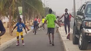 Bénin-sportifs de rue