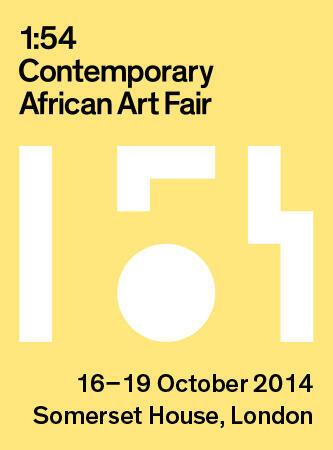 Le logo de « 1 :54 », la première foire internationale dédiée à l'art contemporain africain, du 16 au 19 octobre à Londres.
