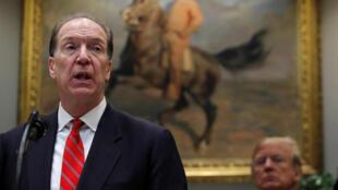 La Maison Blanche a nommé David Malpass comme candidat au poste de président de la Banque mondiale, mercredi 6 février.