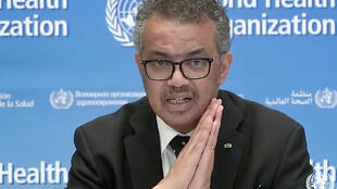 "WHO chief Tedros Adhanom Ghebreyesus says the coronavirus pandemic is ""accelerating"" but its trajectory can still be changed"