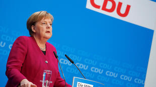 德國總理默克爾  2018年10月29日柏林