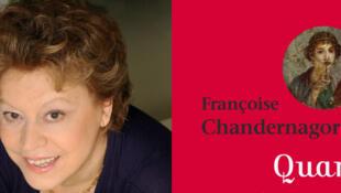 Anthologie poétique «Quand les femmes parlent d'amour» de Françoise Chandernagor.