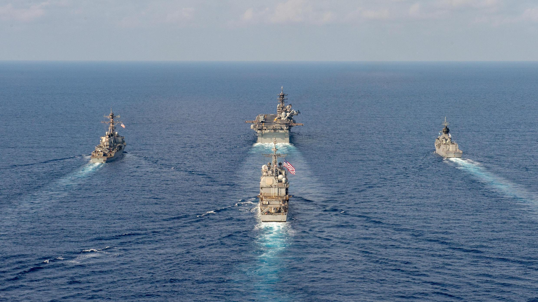 Mer de Chine - Etats-Unis - Australie - Exercices militaires