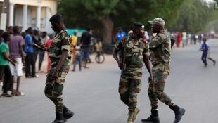 Yankin Karang da ke kan iyakar Senegal da Gambia.