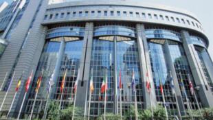 El Parlamento Europeo en Bruselas.