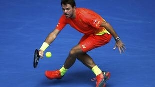 Stan Wawrinka says his forehand has improved under the guidance of his coach Magnus Norman.