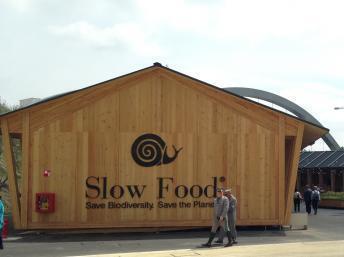 Pabellón del movimiento Slow Food en la Expo de Milán 2015.