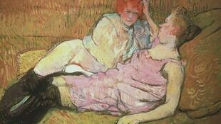 Henri de Toulouse-Lautrec, The Sofa
