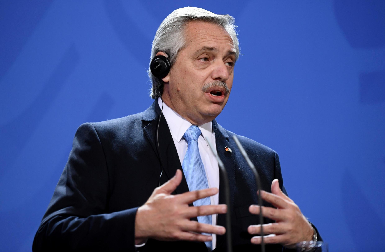 O presidente argentino Alberto Fernández iniciou na última sexta-feira (31) pela Itália um giro europeu que o levou à Itália, Espanha, Alemanha e será encerrado na França.