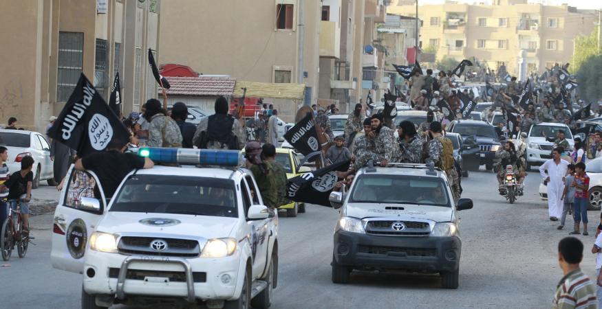 Quân thánh chiến của tổ chức Nhà nước Hồi giáo