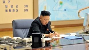 朝鲜领导人金正恩3月29日主持最高战略会议。