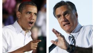 Americanos optam entre Barack Obama e Mitt Romney