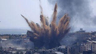 Israel - Palestine - bombardement