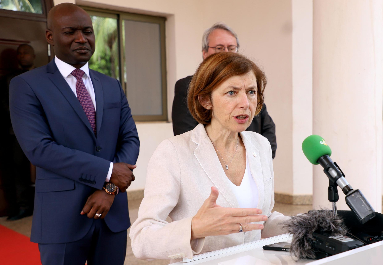 Ministar tsaron Faransa Minister Florence Parly.