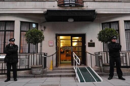 O hospital King Edward VII, em Londres, onde Kate esteve internada.