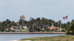 Dinh cơ nghỉ mát Mar-a-Lago, nơi tổng thống Mỹ Donald Trump tiếp Tập Cận Bình trong hai ngày 6 và 7/04/2017.