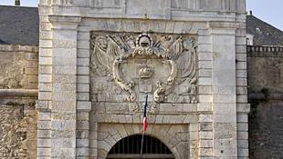 Porte d'entrée de la citadelle de Saint Martin de Ré.