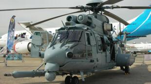 L'EC725 Caracal est un hélicoptère de transport militaire fabriqué par Airbus Helicopters.