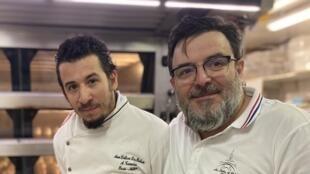 Anthony e António Teixeira