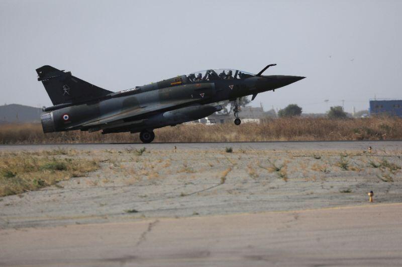 Daya daga cikin jiragen yakin Faransa samfurin 'Mirage 2000' da aka yi amfani da su wajen kaiwa mayakan 'yan tawayen Chadi farmaki.