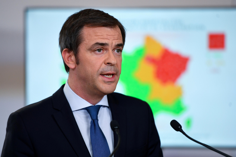 El ministro francés de la Salud, Olivier Veran.