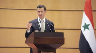 Shugaban kasar Syria Bashar al-Assad