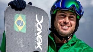 O atleta André Cintra, um dos brasileiros a participar das Paralimpíadas de Sochi.