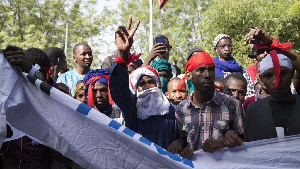 Kabilar Fulani na zanga-zanga a birnin Bamako na kasar Mali karkashin inuwar kungiyarsu mai suna Tabital Pulaaku-Mali