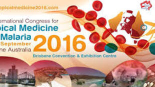 Logo congresso 2016 da Federação internacional de Medicina Tropical