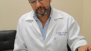 Pesquisador brasileiro Rivaldo da Cunha coordenou testes no MS.
