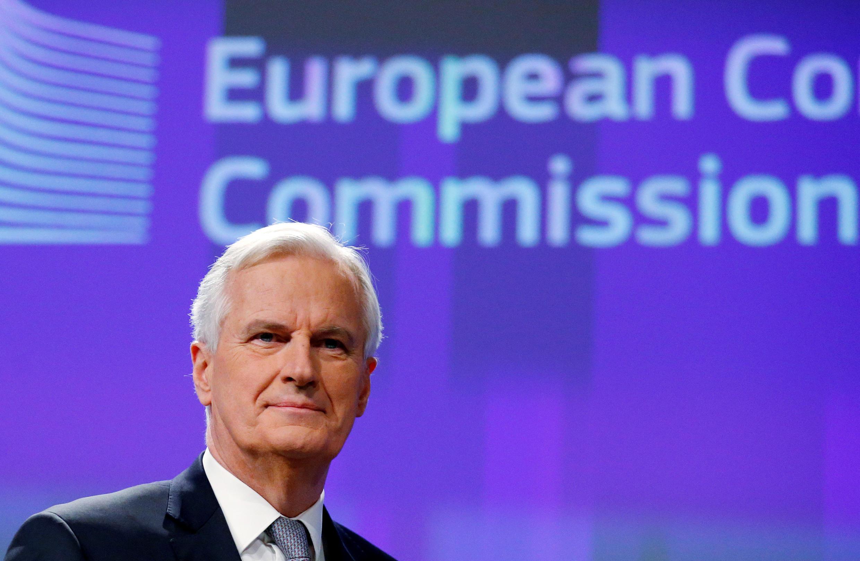 Michel Barnier, anayeongoza mazungumzo kwa upande wa Umoja Ulaya kuhusu kujiondoa kwa Uingereza katika umoja huo.