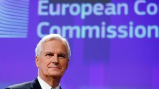 Michel Barnier, négociateur en chef de la Commission européenne sur le Brexit.