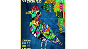 Affiche du festival d'Essaouira au Maroc 2013.