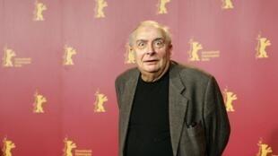 Claude Chabrol à Berlin, le 16 février 2006.