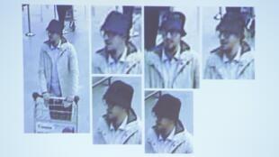 """O """"homem do chapéu"""" foi também acusado pelos ataques terroristas na Bélgica."""