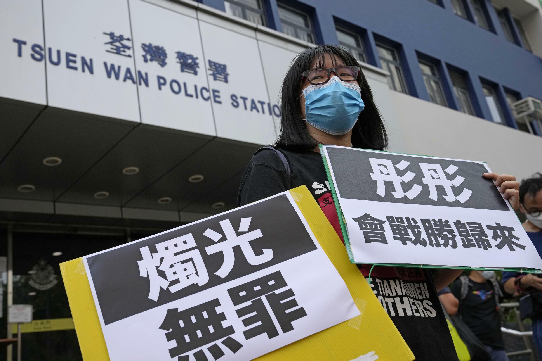 香港支联会副主席邹幸彤6月30日再遭捕。