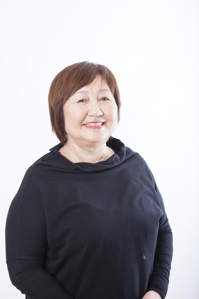Tolekan Ismailova, fondatrice de l'ONG Bir Duino-Kyrgyzstan.