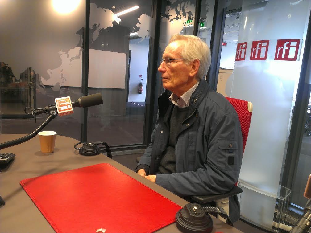 Французский биограф Бабеля Адриан Ле Биан в студии RFI