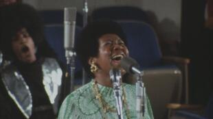 Aretha Franklin dans «Amazing Grace».
