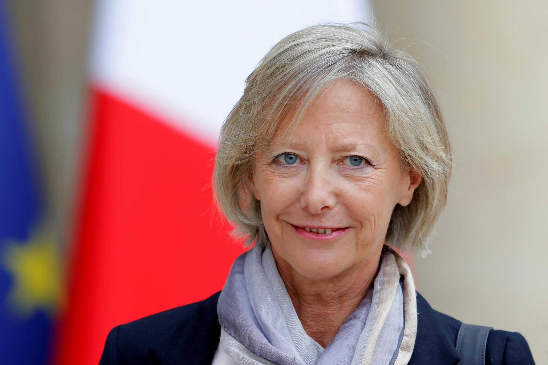 Sophie Cluzel, secrétaire d'Etat chargée des personnes handicapées, avant son premier conseil des ministres, le 18 mai 2017 à Paris.