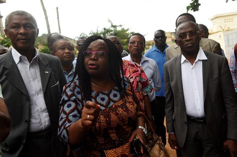 Brigitte Adjamagbo, une des leaders de l'opposition togolaise.