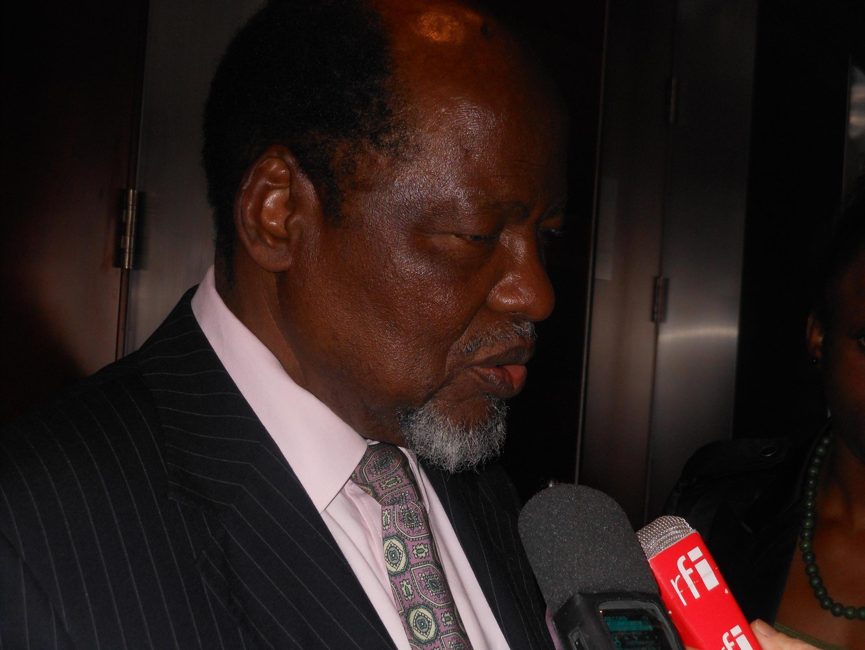 Joaquim Chissano, antigo presidente moçambicano optimista sobre a paz em Moçambique