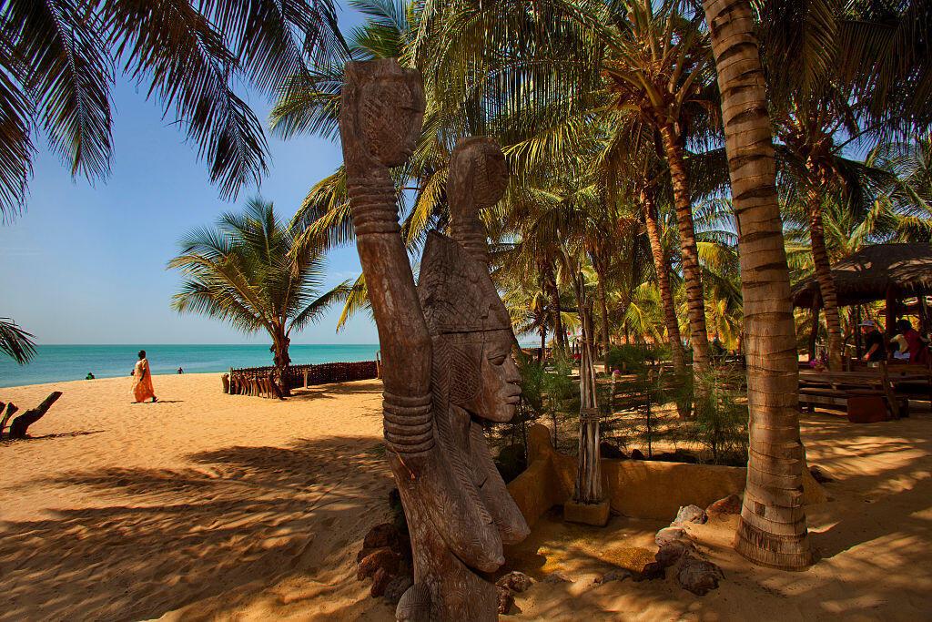 La plage des Cogotiers à Mbour au Sénégal (image d'illustration).