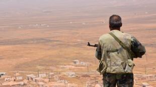 Binh sĩ Syria tại Damas